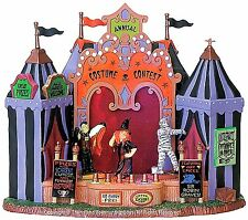 Lemax 75573 COSTUME CONTEST Spooky Town Building Animated Sights & Sounds I