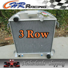 FOR 1932 FORD CHOPPED CHEVY ENGINE AT 32 3 core aluminum radiator 1yr warranty