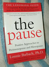 THE PAUSE by LONNIE BARBACH, PHD 2000 REVISED ED PB