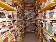 Lotto blocco STOCK 100 libri vario genere da librerie per mercatini bazar fiere