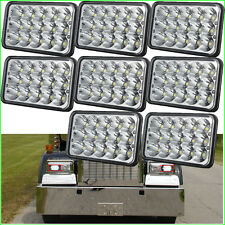 8PC 4x6 Sealed Beam LED Headlight HID for Kenworth T800 T400 T600 W900B W900L