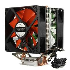 3 Pin Dual Fan CPU Cooler Disipador Para Intel LGA775/1150/1155 AMD AM2/AM2+/AM3