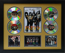 KISS Signed Limited Edition Framed Memorabilia (g)