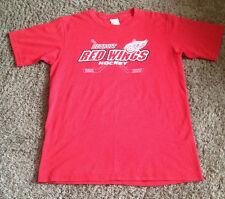 """VINTAGE DETROIT RED WINGS  NHL  """"2""""  TECH  MESH  JERSEY BY ACTIVE   MEN""""S XLARGE"""