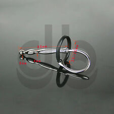 Stainless Steel Urethral Sound -Dilator CBT Plug Tube Catheter Penis Ring FF608