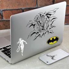 DC Comics Gadget Decals | Retro Batman, Superman, Wonder Woman and Joker Decals