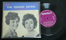 SCOTTISH FOLK EP Anne And Laura Brand Waverly 136 The Singing Sisters