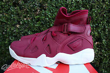NIKE AIR UNLIMITED SZ 10 NOBLE RED SAIL WHITE NIKELAB 854318 661