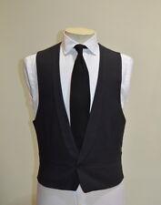 Spencer Hart Savile Row Black Marcella SB1 Shawl Lapel Waistcoat 38 R Black Tie