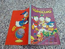 TOPOLINO LIBRETTO N.401 ORIGINALE MONDADORI DISNEY 1963 CON BOLLINO OTTIMO