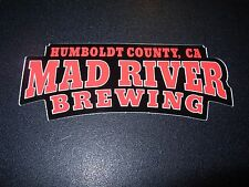 MAD RIVER BREWING Slammin Salmon Redwood STICKER decal craft beer brewing