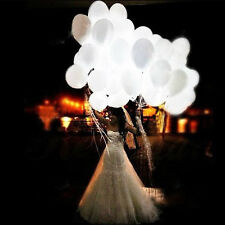 10 Pcs LED Light Balloon Light LED 12 Inch Inflatable Balloon Lamp for Wedding b