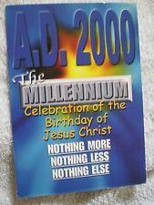 AD2000 THE MILLENIUM BIRTHDAY OF JESUS CHRIST POSTCARD