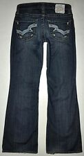 Big Star Women's Maddie Mid Rise Fit Flare Jeans 25S X 29.5 Short AWESOME