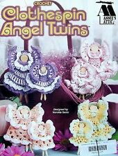 Crochet  Clothespin Angel Twins  Patterns  Annie's Attic