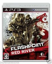 Used PS3 Operation Flashpoint Red River PLAYSTATION 3 SONY JAPAN JAPANESE IMPORT