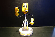 Reddy Kilowatt Electric Utility WILLIE WIREDHAND WIREHAND HEAVY BOBBLE FIGURE