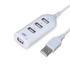 USB2.0 4-Port Splitter HUB Adapter Cable High Speed For PC Computer Laptop Hot V