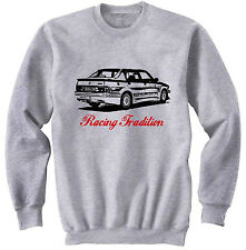 ALFA ROMEO 75 TURBO TRADITION P - COTTON GREY SWEATSHIRT ALL SIZES IN STOCK