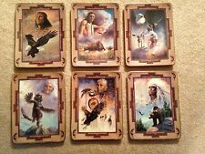 Collection of Six (6) Franklin Mint Western Heritage Museum Ltd Ed Num Plates