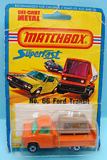 CH142/14 MATCHBOX / EXPORT USA / SUPERFAST / N°66 FORD TRANSIT 1/64