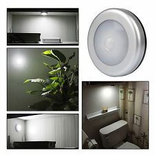 6LED Wireless PIR Motion Sensor Light Cabinet Wardrobe Wall Lamp Battery Powered
