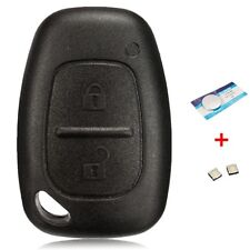 2 Button Remote Key Fob Case Shell For Renault Trafic Vivaro Master Kangoo