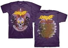 NEW - CARCASS PURPLE INKED STEEL OBITUARY CONCERT MUSIC T-SHIRT 2XL / X X LARGE
