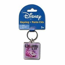 Disney Alice in Wonder Land CHESHIRE CAT Lucite Keychain