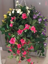 New Artificial Morning Glory Hanging Basket
