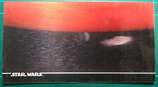 "Star Wars Topps 1996 3Di Widevision Card #46 ""Destination: Yavin!"""