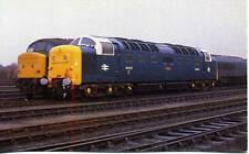 Deltic Type 5 Diesel Locomotive Class 55 55003 MELD York 1979 OPC Postcard