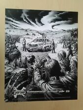 The Walking Dead Hyundai Chop Shop Promo Mini-Poster Limited Supply
