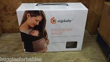Ergo Baby Wrap - Clay (Taupe with Black) BRAND NEW - FREE SHIPPING!
