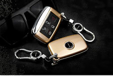 Gold Remote Gold FOB Key Cover Case Bag Fit For Land Rover Evoque Freelander 2