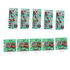 5pcs 433Mhz RF transmitter and receiver kit for Arduino Wireless Remote Control