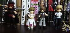 Tsubasa Reservoir Chronicle Mini Figure (set of 4)