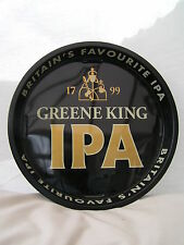 """IPA Greene King 12"""" Metal Serving Beer Bar Drinks Tray Home / Pub / Party New"""