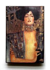 G Klimt Judith & Holofernes Jugendstil Unikat Ziegel 11