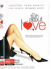 The Truth About Love DVD BRAND NEW SEALED COMEDY ROMANCE Jennifer Love Hewitt R4