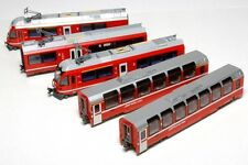 New Kato N Gauge 10-1318 RhB Bernina Express 5 Car Powered Set