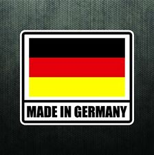 Made In Germany Vinyl Bumper Sticker Decal German Sport Car Decal For BMW Benz