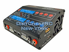 Dual 2 Port 100Watt 10/6Amp ACDC Balancing Battery Charger LiPo UP100AC HRC44232