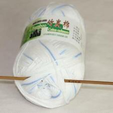 Sale New 1Skeinx50g Soft Baby Natural Smooth Bamboo Cotton Hand Knitting Yarn 40