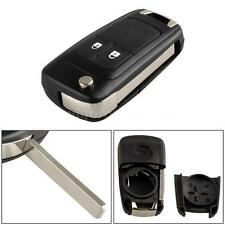 2B Folding Flip Key Shell Case Remote Key Cover for Vauxhall Opel Astra H0W8