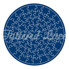 Tattered Lace CIRCLE JIGSAW Die + CD ROM - TLD0023 - FREE 1st Class P&P
