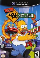 Simpsons Hit And Run Nintendo Gamecube Game Only