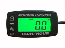 Tach Hour Meter tachometer RPM display motorcycle atv dirtbike buggy outboard