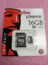 Lot of 10 New Kingston Micro SD SDHC/16GB MicroSD SDHC Class 10