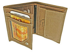 Mens Brown Leather Hunter Wallet & Credit Card Holder